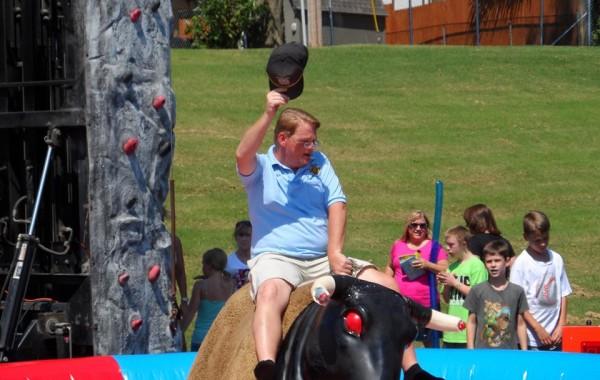 Bryan Bull Riding