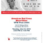 American Red Cross Blood Drive @ BINGO HALL