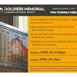 Soldiers Memorial Museum Community Forum